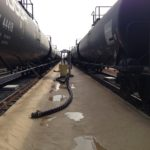 Railroad Release Secondary Containment Liner - RoboLiner®
